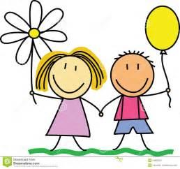 Kids Friends Drawing