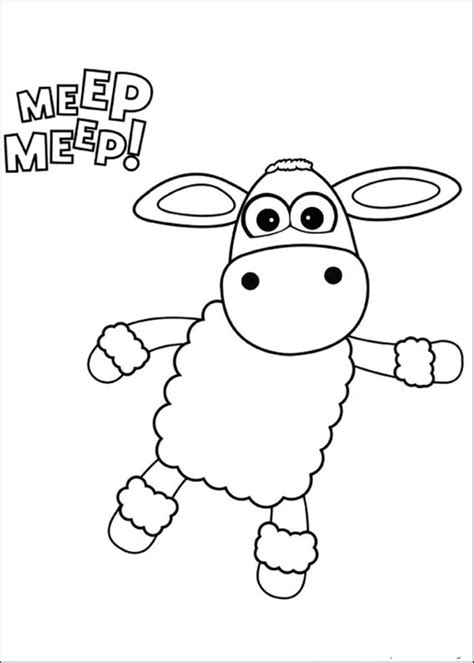 Timmy Time Coloring Pages Home