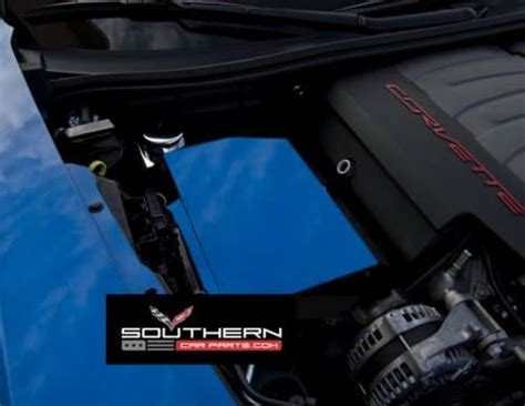 Corvette Custom Painted Steel Fuse Box Cover