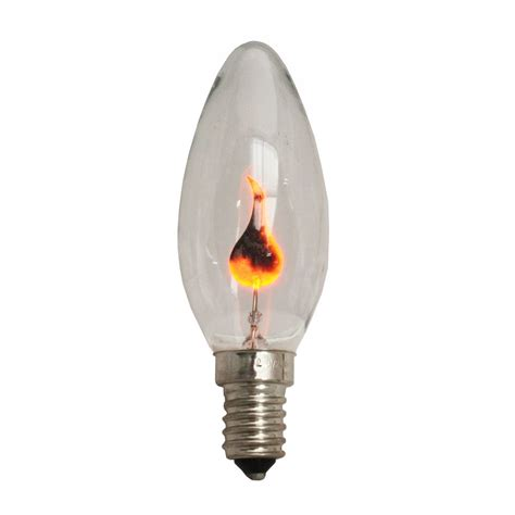 3w neon flicker flame candle bulb ses e14 419904842