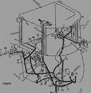 Sound-gard Body Wiring  Not Used In Us And Canada  - Tractor John Deere 4450 - Tractor