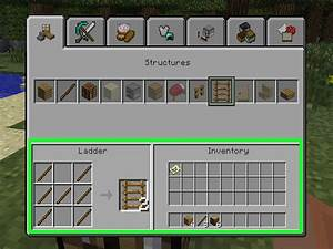 3 Ways To Craft Items In Minecraft WikiHow