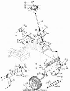 Troy Bilt 13bx60tg766 Super Bronco  2007  Parts Diagram For Steering  U0026 Front Axle