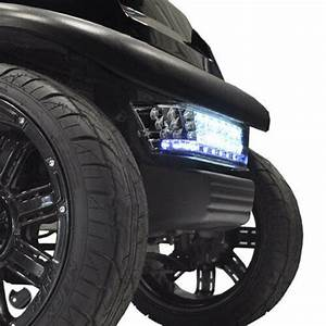 Led Light Bar And Bumper Light Kit   Fits  Club Car