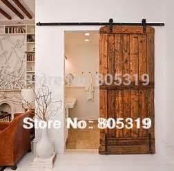 home hardware interior doors 6 6ft modern sliding barn door hardware interior sliding wooden door kit in doors from home