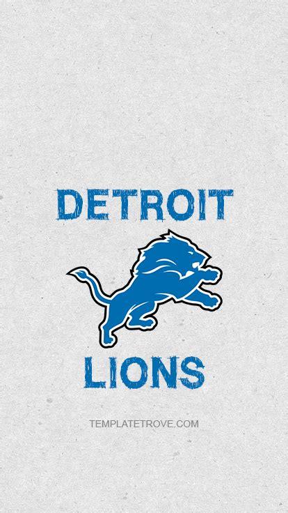 detroit lions lock screen schedule  iphone