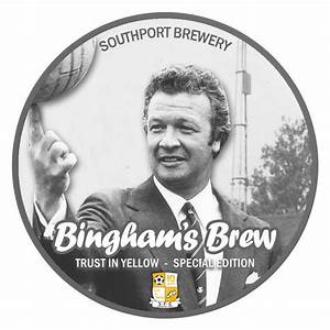 Bingham's Brew created to celebrate Southport FC's first ...