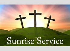 Wendell Christian Church Easter Sunrise Service March 27