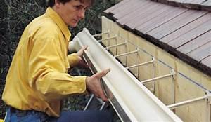 Réparer Une Gouttière En Zinc : poser de goutti res en pvc ~ Premium-room.com Idées de Décoration