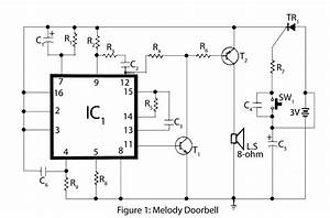 gt circuits gt advanced melody doorbell l26332 nextgr With doorbell cascade circuit diagram