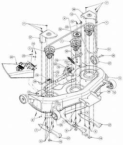 Amazing Cub Cadet Mower Deck Parts Diagram  2 Cub Cadet
