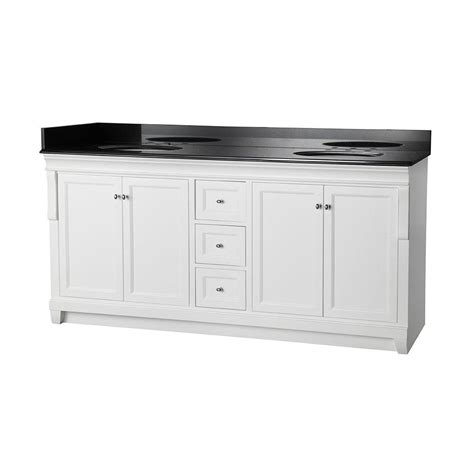 foremost naples 72 in w x 22 in d bath vanity in