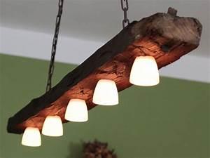 Lampe Aus Alten Holzbalken : h ngelampe deckenlampe lampe rustikal holz holzbalken led vintage shabby holz lampen ~ Orissabook.com Haus und Dekorationen