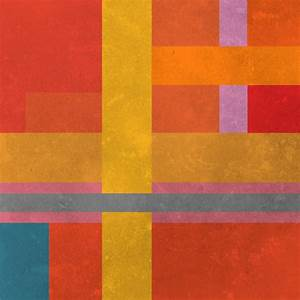 Abstract, Minimalist Artworks Based On The Colors Of ...