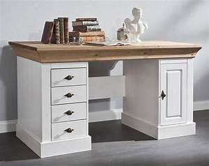 Schreibtisch Holz Massiv Mobel