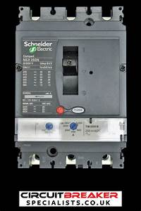 Schneider Electric 250 Amp 50 Ka Triple Pole Mccb Lv431830