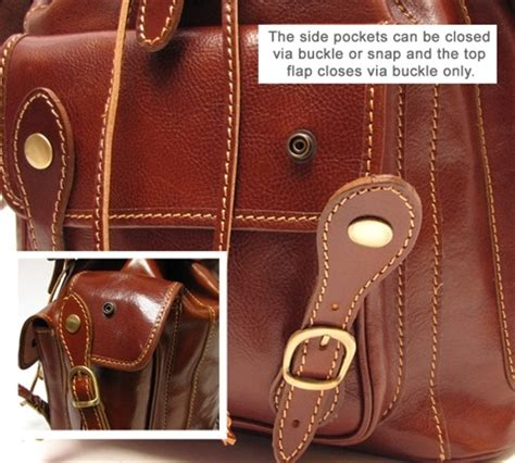 floto roma pack leather backpack