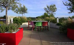 deco terrasse paysagiste With amenagement terrasse et jardin photo 18 deco wc insolite