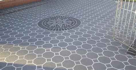 concrete stencil design ideas