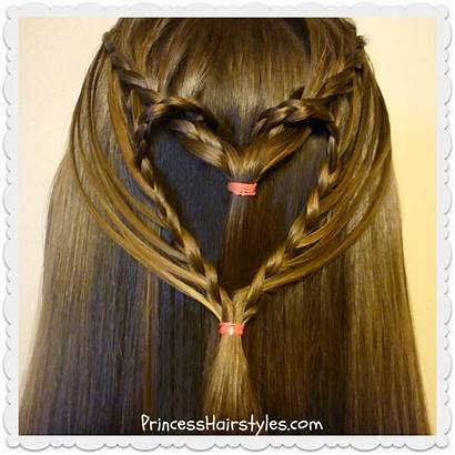 Hairstyle Heart Valentine Hairstyles Streaming Tutorial Valentines