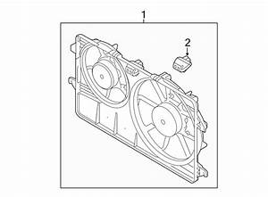Ford Transit Connect Engine Cooling Fan Assembly