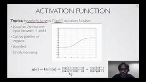 Neural Networks  1 2    Feedforward Neural Network - Activation Function