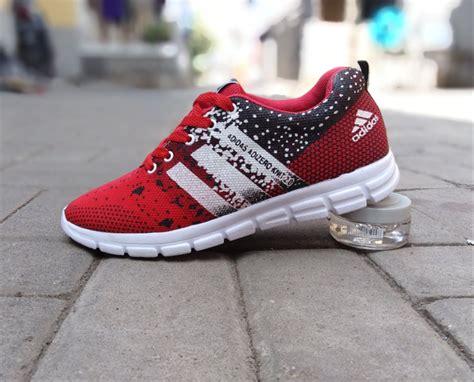 Sepatu Adidas Adizero 2 0 2 jual sepatu sport adidas adizero knit 2 0 merah hitam