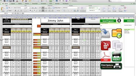 excel training designs platinum program sheet youtube