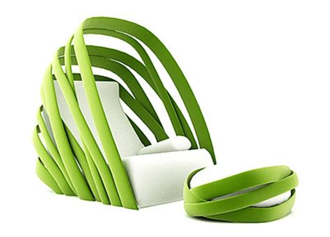 chaise vegetal fresh nature inspired lounge chair design digsdigs