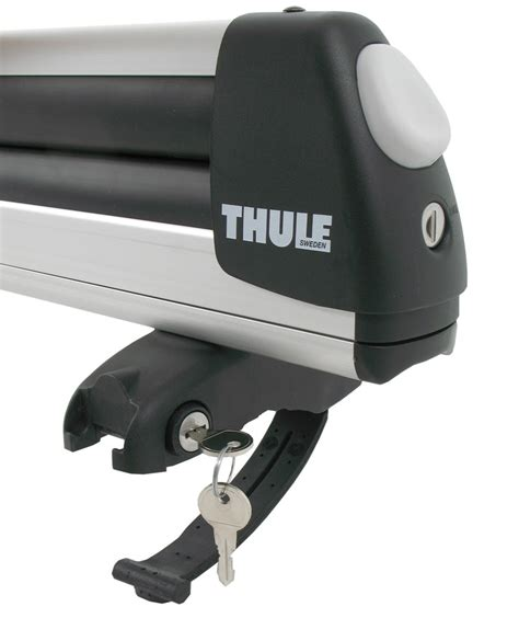 thule ski rack thule pull top slide out ski and snowboard carrier 6