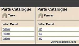 Terex Fermec Parts And Repair Manuals Download
