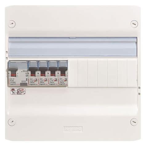 tableau electrique pour cuisine legrand tableau électrique équipé précâblé spécial pour extension cuisine cellier achat