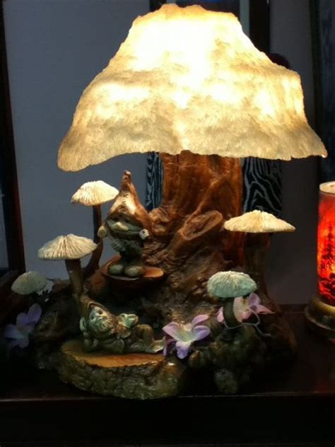 mushroom lamps indoor decor  furniture pinterest