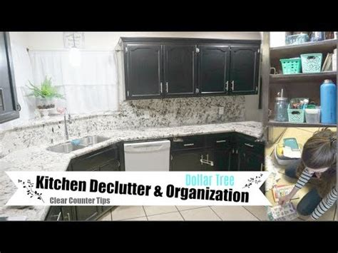 Dollar Tree Organization & Kitchen Declutter  Cleaning