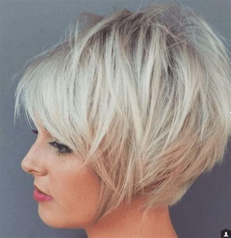 blond haare bob frisur stufig kurz short cuts