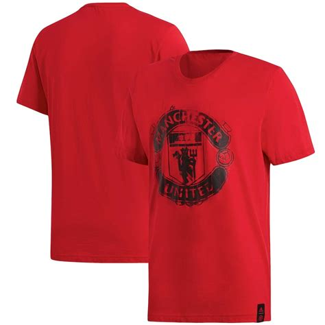 Men's adidas Red Manchester United DNA T-Shirt