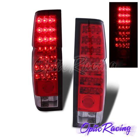 nissan hardbody tail lights led for 1986 1997 nissan hardbody pickup datsun d21 red