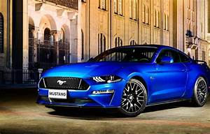 Wallpaper blue, Ford, Fastback, 2018, Mustang GT images for desktop, section ford - download