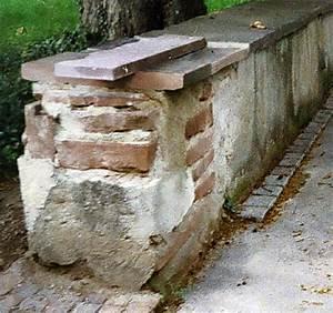 Alte Ziegelmauer Sanieren : mauer zur kirche zum dorffest hin neu eimeldingen ~ A.2002-acura-tl-radio.info Haus und Dekorationen