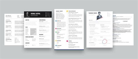 How To Design Resume how to design your own resume ux collective