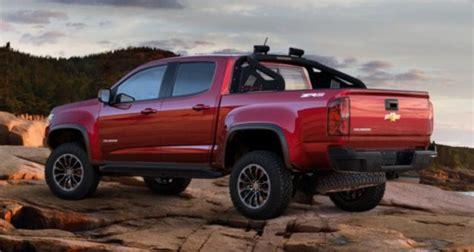 2019 Chevy Colorado Zr2 Utility Truck Spy And Specs