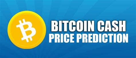 Sign up and buy bitcoin safely on. Bitcoin Cash (BCH) Price Prediction 2020, 2021, 2025, 2030