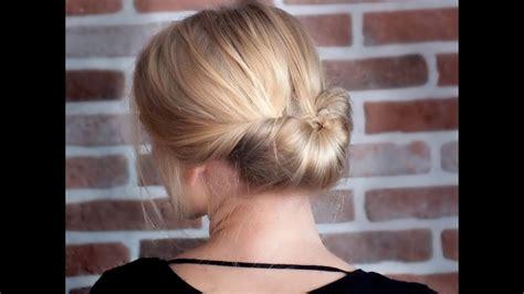 tutoriel coiffure chic facile et rapide pour les f 234 tes de fin d 233 e