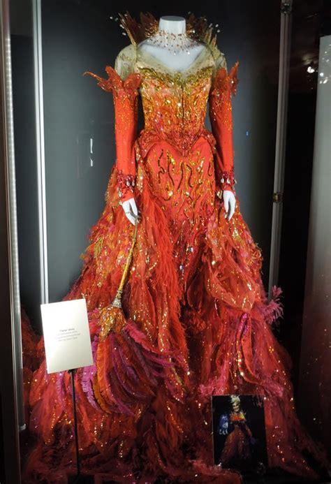 hollywood  costumes  props cruella de vils  dalmatians flame dress worn  glenn
