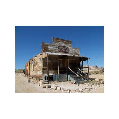 Gallery For > Rhyolite Ghost Town Map