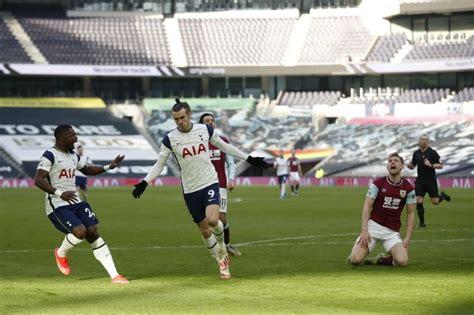 Result: Tottenham Hotspur 4-0 Burnley: Gareth Bale nets brace