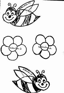Blumen Basteln Vorlage : bienenmobile aus holz basteln ~ Frokenaadalensverden.com Haus und Dekorationen