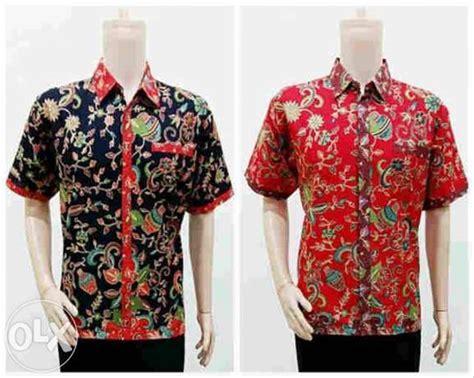 jual kemeja motif gentong di lapak fahmi batik fahmi