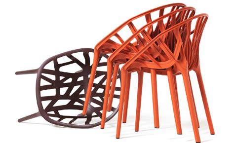 chaise vegetal vegetal stacking chair hivemodern com