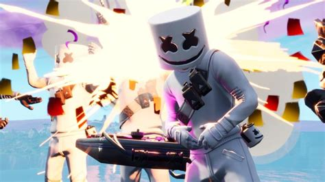 marshmello fortnite skin details wallpapers supertab